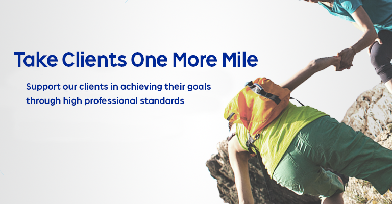 Take Clients One More Mile
