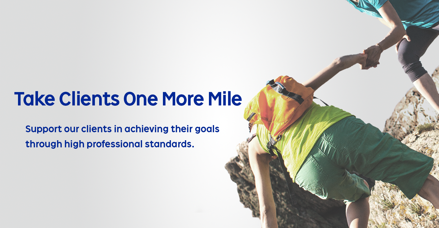 Take Clients One More Miles